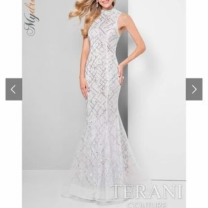 Terani Couture Gorgeous Beaded Prom Dress